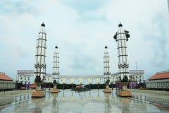 Masjid Agung Jawa Tengah, Indonesia. Masjid Agung Jawa Tengah, Semarang, Indonesia Stock Photo