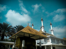 Masjid agung tasikmalaya indonesia. Tempat ibadah agama muslim Royalty Free Stock Photo