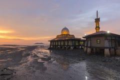 Masjid Al Hussain i den Kuala Perlis staden, Malaysia Arkivbild
