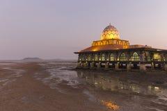 Masjid Al Hussain in Kuala Perlis city, Malaysia Royalty Free Stock Photo