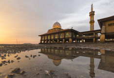 Masjid Al Hussain in Kuala Perlis-Stadt, Malaysia Lizenzfreies Stockfoto