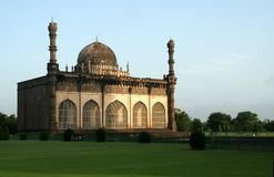 Masjid all'indicatore luminoso di mattina Fotografie Stock