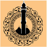 Masjid art Stock Image
