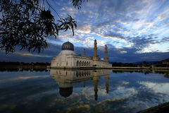Masjid Bandaraya Kot Kinabalu Fotografia Royalty Free