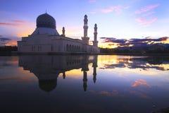 Masjid Bandaraya Likas Fotografering för Bildbyråer