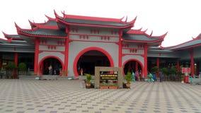 Masjid Cina Melaka Arkivbild