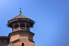 Masjid de Jamia en Srinagar, la India Foto de archivo