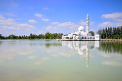 Masjid de Tuanku Zanariah (mosquée) en Kuala Terengganu, Terengganu, Malaisie Photographie stock libre de droits