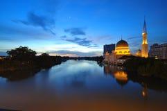 Masjid DiRaja Klang, Selangor, Maleisië. stock afbeelding