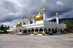 Masjid Diraja Tuanku Munawir i Negeri Sembilan Arkivbild