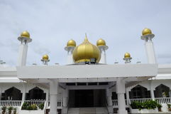 Masjid Diraja Tuanku Munawir in Negeri Sembilan. NEGERI SEMBILAN, MALAYSIA – NOVEMBER, 2013: Masjid Diraja Tuanku Munawir is also known as the Royal Mosque of Stock Images