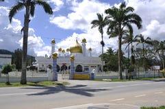 Masjid Diraja Tuanku Munawir in Negeri Sembilan. NEGERI SEMBILAN, MALAYSIA – NOVEMBER 15, 2014: Masjid Diraja Tuanku Munawir is also known as the Royal Mosque Stock Photography