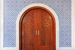 Masjid door Royalty Free Stock Photo