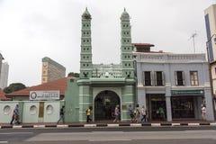 Masjid Jamae清真寺在新加坡 库存图片
