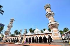 Masjid Jamek吉隆坡 免版税图库摄影