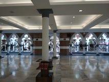 Masjid Jamek成拱形 库存图片