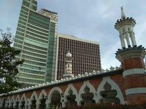 Masjid Jamek 免版税库存照片