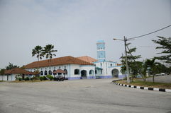 Masjid Jamek Dato Bentara Luar dans Batu Pahat, Johor, Malaisie Photo libre de droits
