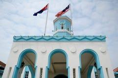 Masjid Jamek Dato Bentara Luar en Batu Pahat, Johor, Malasia Imagen de archivo