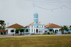 Masjid Jamek Dato Bentara Luar i Batu Pahat, Johor, Malaysia arkivbild