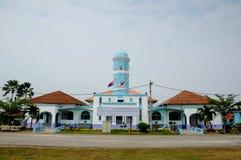 Masjid Jamek Dato Bentara Luar i Batu Pahat, Johor, Malaysia royaltyfria foton