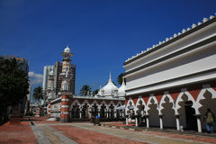 Masjid Jamek de Kuala Lumpur Photo stock