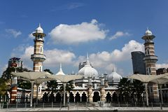 Masjid Jamek KL royalty free stock photos