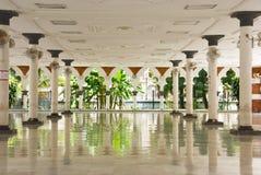 Masjid jamek Moschee, Kuala Lumpur Stockfoto
