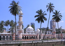 Masjid Jamek Mosque Kuala Lumpur Stock Image