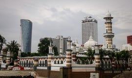 Masjid Jamek w Kuala Lumpur, Malezja Obraz Royalty Free