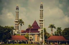 Masjid Jami. Loc.Jombang , Jawa Timur , Indonesia stock image