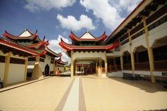Masjid Jubel Perak sułtanu Ismail Petra a K A Masjid Pekin zdjęcia royalty free