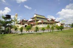 Masjid Jubel Perak sułtanu Ismail Petra a K A Masjid Pekin zdjęcie royalty free