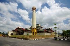 Masjid Jubel Perak sułtanu Ismail Petra a K A Masjid Pekin zdjęcie stock