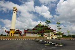 Masjid Jubel Perak sułtanu Ismail Petra a K A Masjid Pekin fotografia royalty free