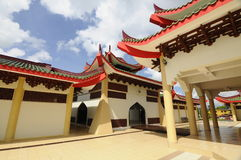Masjid Jubli Perak Sultan Ismail Petra a.k.a. Masjid Beijing Stock Photography