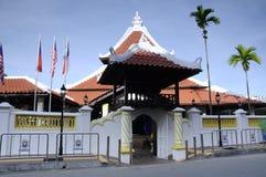 Masjid Kampung Hulu en Malaca, Malasia Fotos de archivo