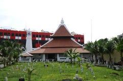 Masjid Kampung Hulu en Malaca, Malasia Fotografía de archivo