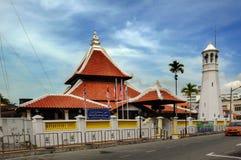 Masjid Kampung Hulu en Malaca, Malasia Foto de archivo