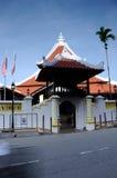 Masjid Kampung Hulu in Malacca, Malaysia Stock Photo