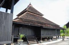 Masjid Kampung Laut chez Nilam Puri Kelantan, Malaisie Photo stock
