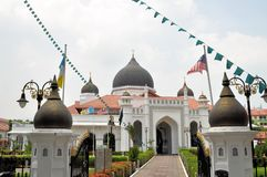 Masjid Kapitan Keling Mosque, George Town, Penang Royalty Free Stock Photography