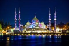 Masjid Kristal (水晶清真寺) 库存图片
