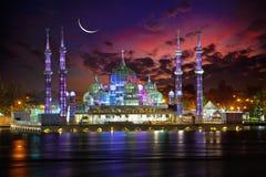 Masjid Kristal水晶清真寺 免版税库存照片