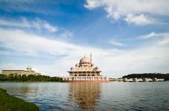 masjid ministra biura prima Putrajaya Zdjęcia Stock