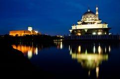 masjid ministra biura prima Putrajaya s Obraz Royalty Free