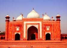 Masjid mosque near Taj Mahal mausoleum, Agra, India Royalty Free Stock Photography