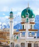Masjid near Main Bazaar in Leh Ladakh, Jammu, India. Masjid near Main Bazaar in Leh city Ladakh, Jammu, India royalty free stock photos