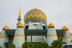 Masjid Negeri沙巴沙巴,马来西亚状态清真寺  kinabalu kota mt 库存照片