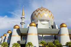 Masjid Negeri Sabah the state mosque. Kota Kinabalu, Malaysia - June 7, 2016: Masjid Negeri Sabah the state mosque of Sabah in Kota Kinabalu, Malaysia Stock Images